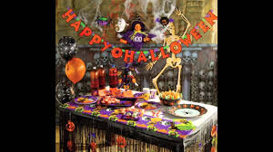 How To Make Halloween Decorations At Home by At Home Halloween Party Decorating Ideas Youtube