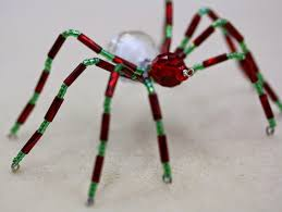 festive christmas spider tutorial bead world