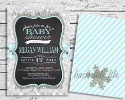winter baby shower invites marialonghi