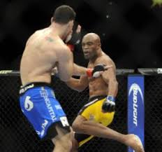 Anderson Silva Bench Press Ufc 168 Anderson Silva Breaks Leg Kicking Chris Weidman Likely