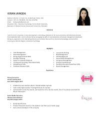 resume masters degree resume kiran