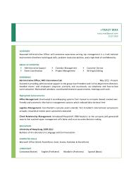 Sample Resume Administrative Coordinator by Administrative Coordinator Cover Letter Sample Cover Letter Sample