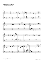 mary u0027s boy child christmas song stave preview 2 free piano sheet