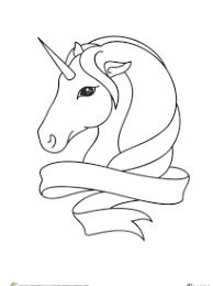 coloriage licornes à imprimer sur hugolescargot com