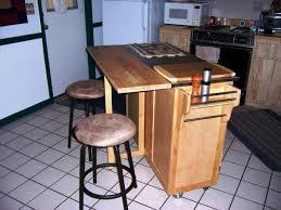 kitchen magnificent butcher block breakfast bar rustic kitchen