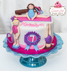 gymnastics cake toppers gymnastics cake decorations and delicious ideas of sweet