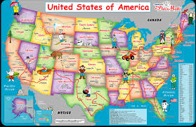 Map Of The United States For Children by 25 Best Ideas About Road Trip Map On Pinterest Road Trip Usa The