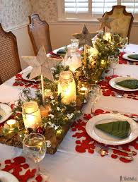 ideas how to decorate christmas table top christmas table decorations on search engines christmas
