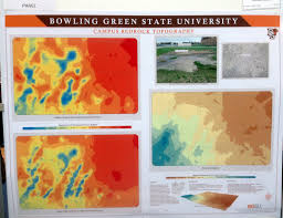 Bgsu Campus Map July 2014 Northing U0026 Easting