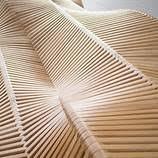 long wooden bench u2013 fubiz media