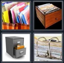Folders For Filing Cabinet 4 Pics 1 Word Answer For Folders Drawer Cabinet Binder Heavy Com