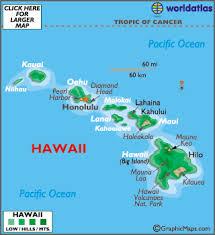 map of hawaii cities hawaii map geography of hawaii map of hawaii worldatlas