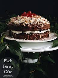 black forest cake living the gourmet