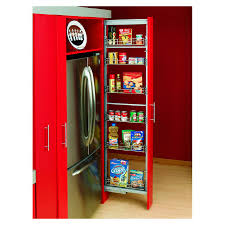 Roll Out Pantry Shelves by Shop Rev A Shelf 6 Basket Pull Out Pantry For 15
