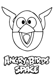 angry bird space lighting bird colouring happy colouring