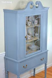 How To Display China In A Hutch Before U0026 After My Thrifted China Cabinet Makeover