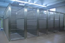 the best dog kennel panels start with durable stainless steel doors