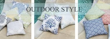outdoor throw pillows find designer patio accessories sky iris