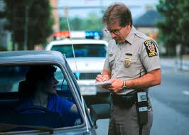 why do police touch the tail light why does a policeman touch a tail light when he stops you