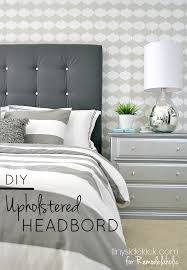 bed headboards diy remodelaholic diy tufted upholstered headboard tutorial