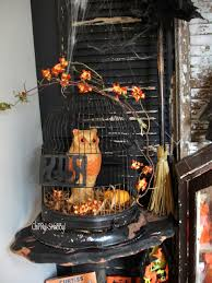 chippy shabby vintage o w l s with a halloween theme