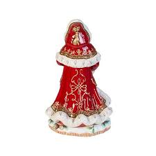 fitz and floyd yuletide santa figurine 8211502 hsn