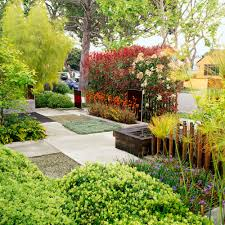 front lawn landscaping ideas sunset