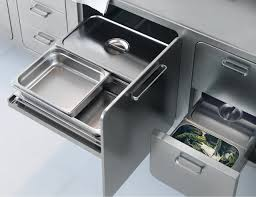 Kitchen Cabinets Accessories Italian Designed Ergonomic And Hygienic Stainless Steel Kitchen