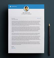 free simple resume cover letter u0026 business card design template