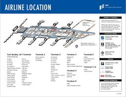 Jetblue Airports Map Lax Employee U0027s Guide May 2013