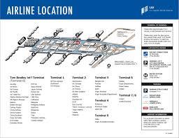 Lga Terminal Map Lax Employee U0027s Guide May 2013