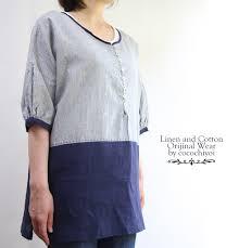 linen blouses linen onepiece rakuten global market linen cotton linen