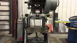 27 ton johnson obi punch press 26339 youtube