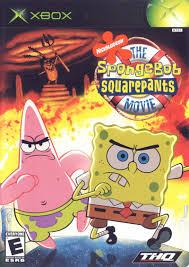 spongebob squarepants the movie 2004 xbox box cover art mobygames