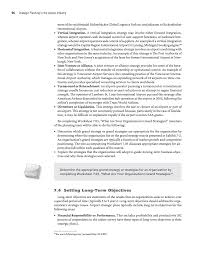 Responsibility Worksheet Part 2 The Strategic Planning Sequence Strategic Planning In