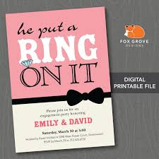 R S V P Means Invitation Cards Tips For Choosing Engagement Party Invites Egreeting Ecards