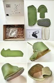 Sho Bayi 101 best pola sepatu bayi images on felt shoes baby