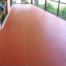 Patio Paint Concrete by Staining Your Concrete Patio To Look Like Tile Concrete Patios