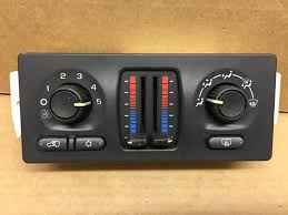 used chevrolet a c u0026 heater controls for sale
