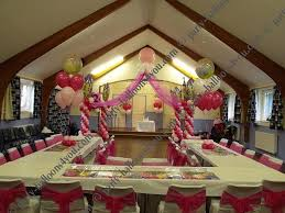 60th birthday party decorations wedding balloons fresh silk flowers pew end bows chair cover hire