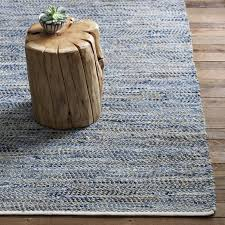 Rug Jute Recycled Denim Jute Rug West Elm