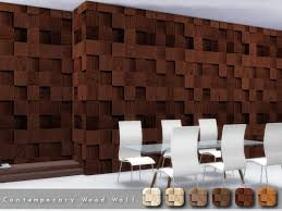 torque s contemporary wood wall