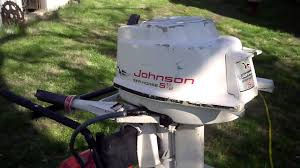 1959 johnson cd 16 5 5 hp outboard first running after winterizing