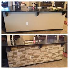 Stone Veneer Kitchen Backsplash Decorating Charming Backsplash With Airstone Lowes Plus Oven