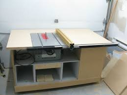 wood table saw stand build table saw cabinet plans woodproject amazing woodwork