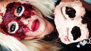 masquerade sfx mask makeup halloween tutorial part 1