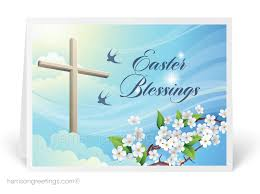easter greeting cards religious christian cross easter greeting card 10624 harrison greetings