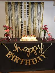 first halloween black background gold and black backdrop birthday party pinterest backdrops