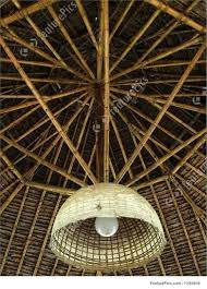 Bamboo Ceiling Light Picture Of Bamboo Ceiling