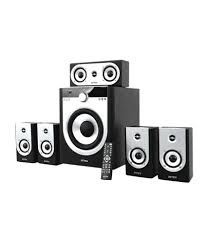 rca home theater system 130 watts buy intex it 9000bt 5 1 home theatre system black online at best